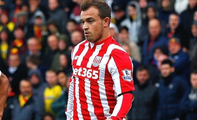 Stoke boss Lambert: Shaqiri benefited from big club experience