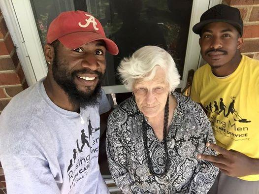 After Seeing Their 93-Year-Old Neighbor Struggling, Two Men Step Up In A Big Way