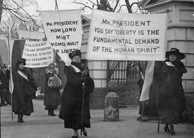 Marching for Equality: A Brief History of Women's Marches