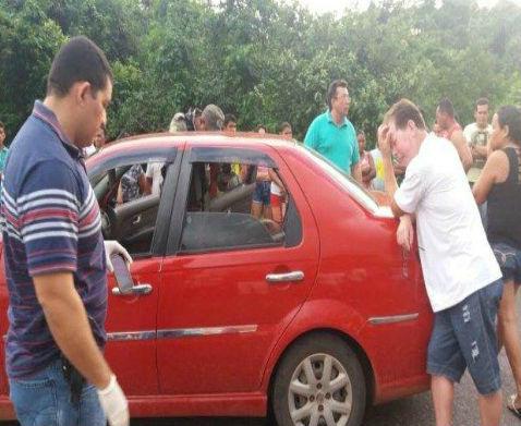 Mulher é assassinada na frente do filho e do esposo no Piauí
