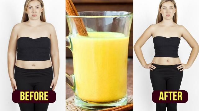 How to Lose Stomach Fat Fast / Turmeric Tea Weight Loss / Fat