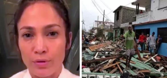 Família de Jennifer Lopez desaparece após furacão e o que atriz diz comove