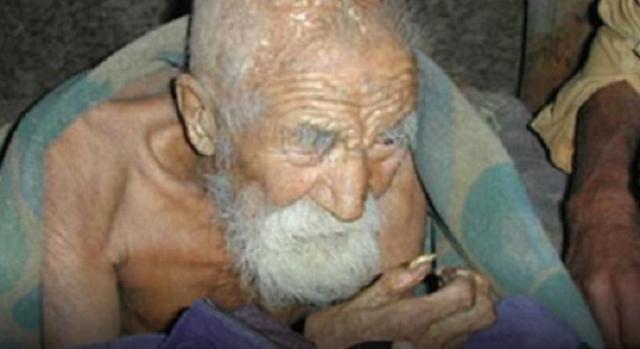 """A morte esqueceu-se dele e tem """"apenas"""" 179 anos de idade!"""