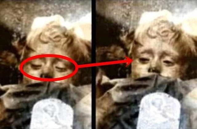 Intrigante! Garotinha mumificada há mais de 94 anos abre os olhos; assista o vídeo