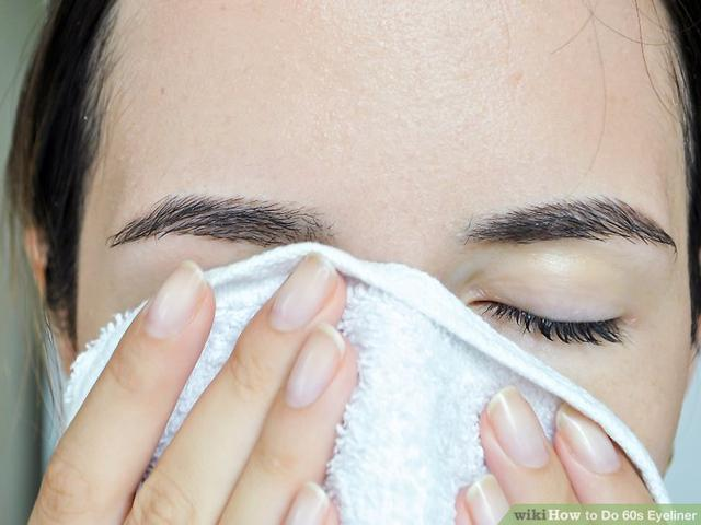 cdb9a768137 Prepping Your Face wikiHow to Do 60s Eyeliner