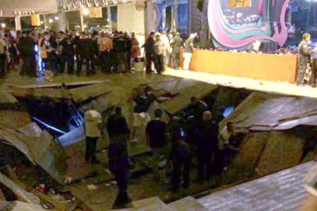 URGENTE: Parte de camarote desaba em Show de Ivete Sangalo