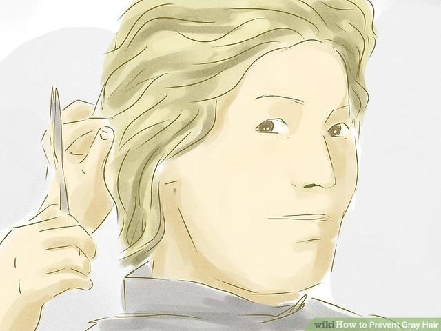 wikiHow to Prevent Gray Hair_国际_蛋蛋赞