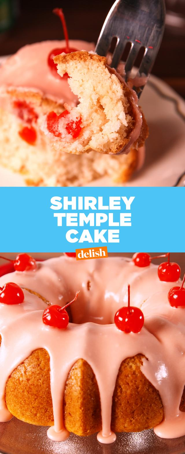 This Shirley Temple Cake Is A Major Throwback