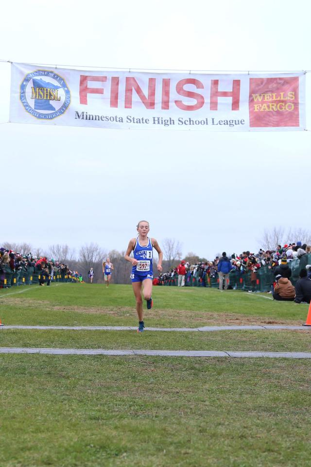 official photos ee9ac db4fa Cross country: Cotter's Lauren Ping 11th at Nike Cross ...