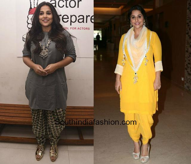 5 Indo Western Styles To Steal From Vidya Balan  South India Fashion