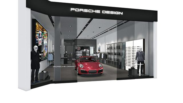Porsche Design Opening New Concept Store in South Coast Plaza