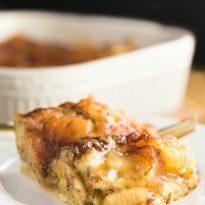 Apple Cinnamon Bun Breakfast Casserole