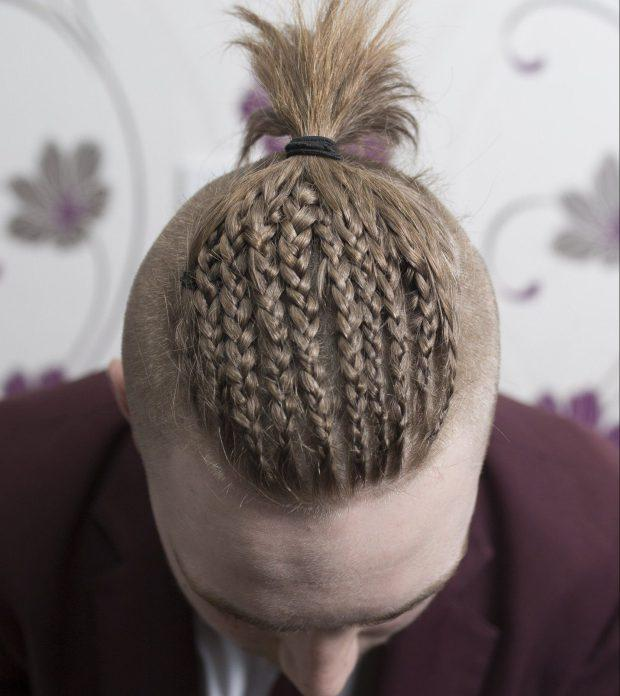 This Student Was Sent Home From School Because His Hair Was