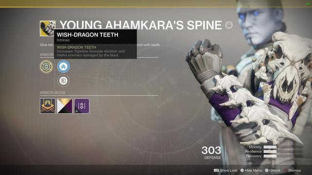 Young Ahamkaras Spine Destiny 2