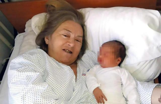 Wow ! Mum Aged 60 finally Gives Birth !!