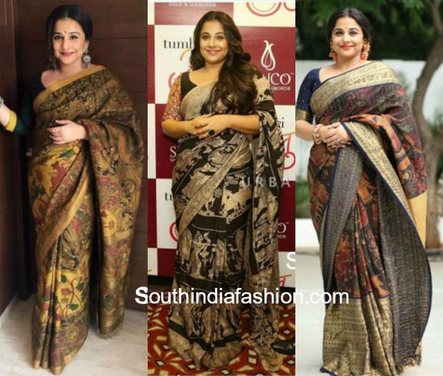 892f3fc9bae Celebrities Who Rocked In Kalamkaris – South India Fashion 国际 蛋蛋赞