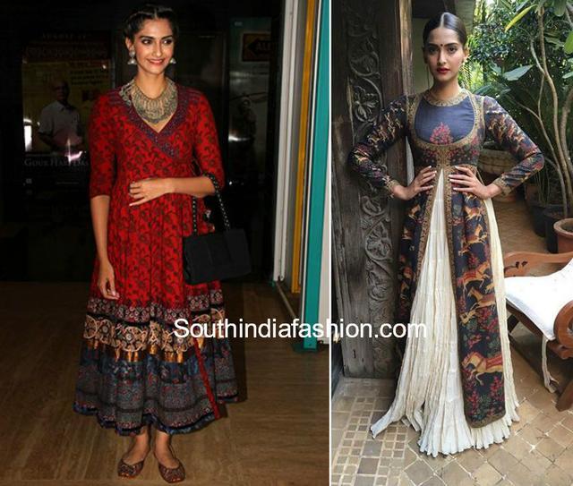 eab703a9481 Celebrities Who Rocked In Kalamkaris – South India Fashion. Regina  Cassandra in Kalamkari Outfits