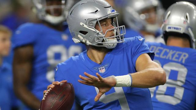 Matthew Stafford admits ankle isn't 100 percent after Lions' loss to Vikings