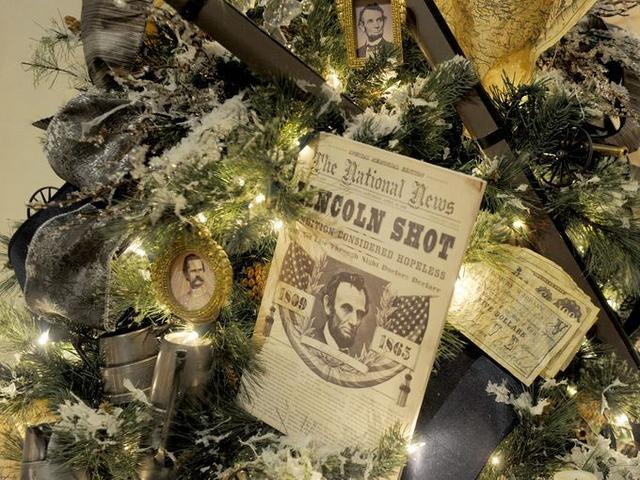 Gallery: Reagan Library trees now on display