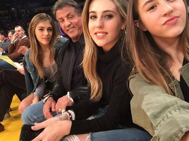 Sylvester  stallone's daughters-which do you like best