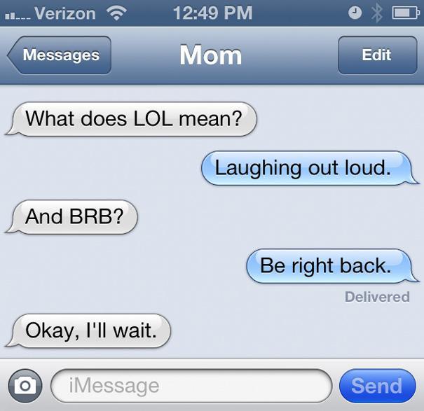 23 Hilarious Mom Text Fails