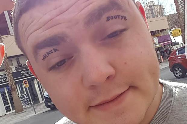 Man got his tattoos after being drunk and now he wants to remove them