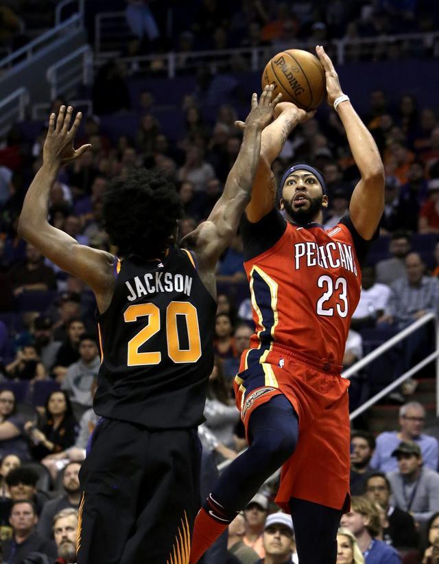 Davis, Cousins lead Pelicans' rout of Suns
