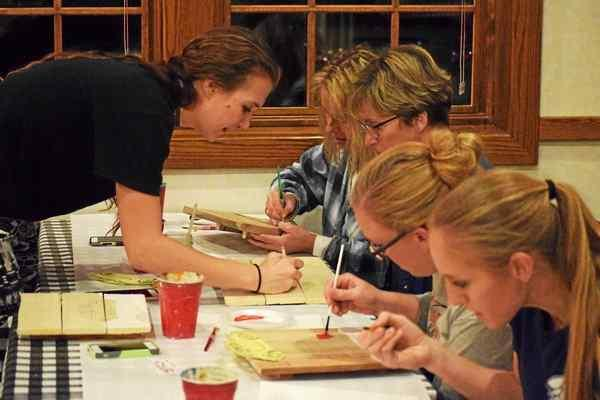 Brush With Bravata hold paint classes