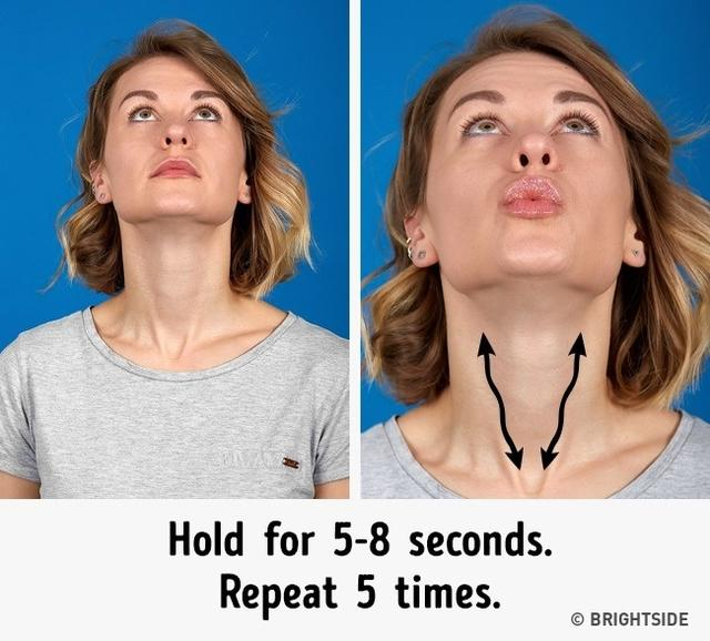 The 7 Most Effective Exercises to Get Rid of a Double Chin