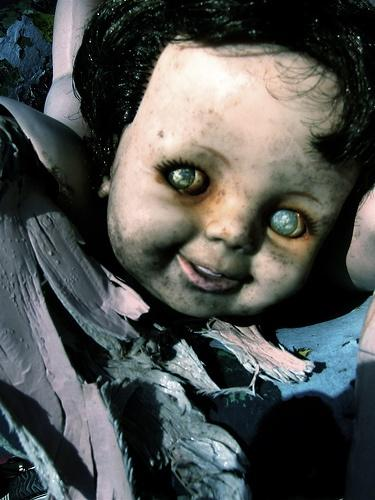 Scariest dolls ever made...who made this things..