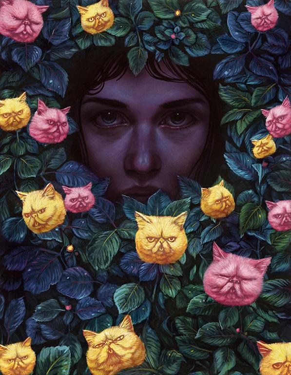 Casey Weldon's Cat-Inspired Narrative on Internet Culture