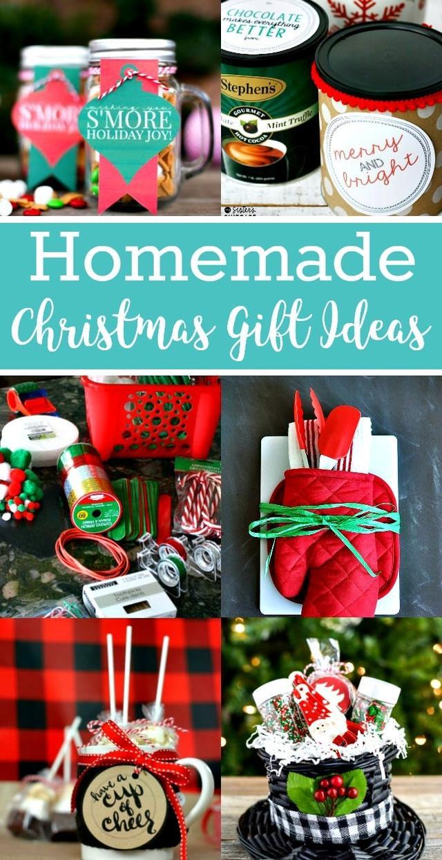 Easy Homemade Christmas Gift Ideas & Easy Homemade Christmas Gift Ideas_??_???