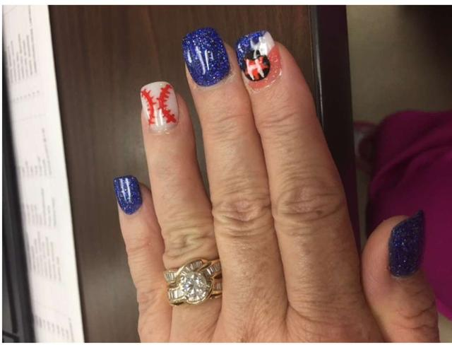 Houston Astros Fans And Nail Artists Are Painting The Town Orange