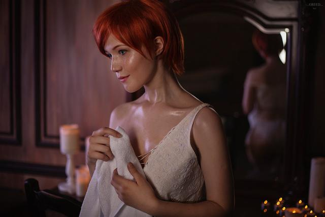Can you recognize all Witcher cosplay girls?_国际_蛋蛋赞