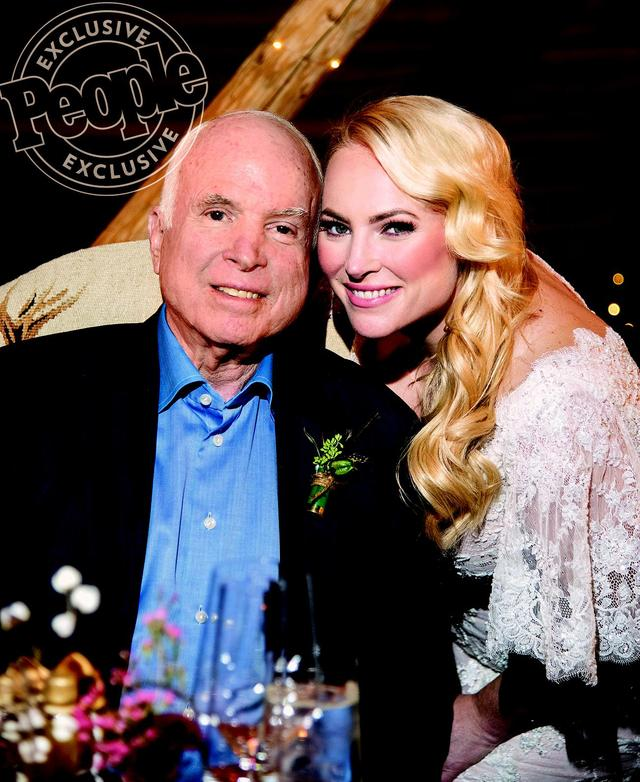 Meghan McCain Moved Up Her Wedding Amid Dad John's Cancer