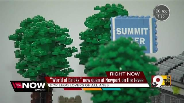 Lego art exhibit 'World of Bricks' opens at Newport on the Levee