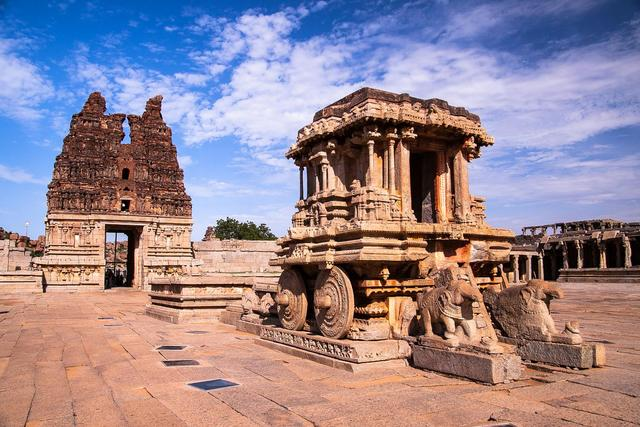 Vittala Temple, Stone Chariot or a space craft visualised by the peoples way back in history?