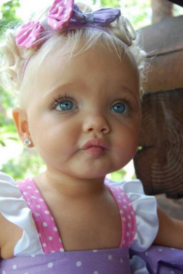 A 2 year old girl is like a Bobbi doll,  worth tens of millions
