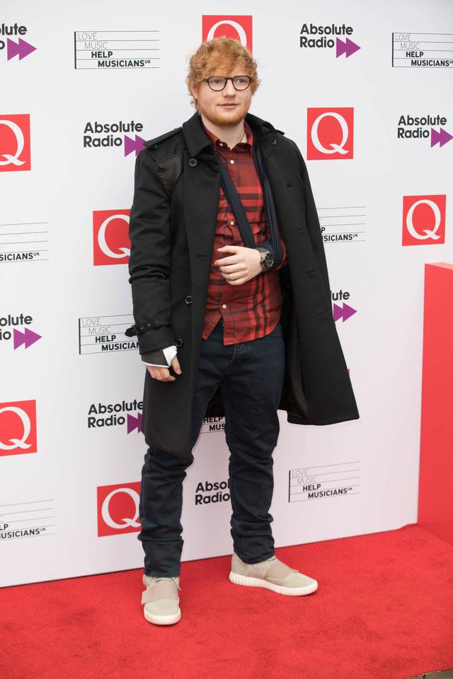 Ed Sheeran was dependent on girlfriend as he recovered from nasty bike fall