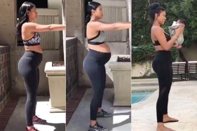 Kevin Hart's Wife Eniko Parrish Shares Amazing Time-Lapse Video of Her Pregnancy