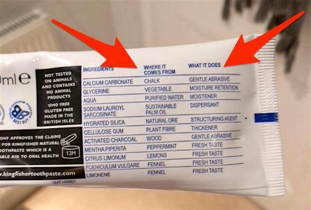 This toothpaste brand lists the exact purpose of each ingredient — and people love it