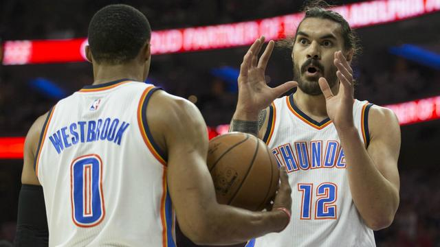 NBA wrap: Steven Adams' perfect night breaks Thunder out of funk