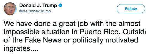Today's Impeach-O-Meter: Trump-Linked Firm With Huge Puerto Rico Contract Threatens San Juan Mayor