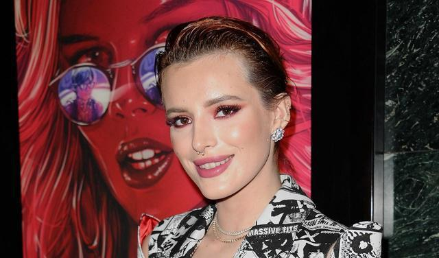Photos of Bella Thorne in a lacy see-through dress spark meltdown: 'Glam goddess'