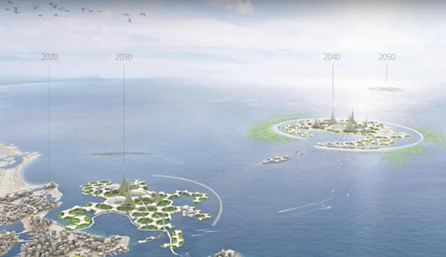 The world's first floating city will be launched in 2020 in the Pacific Ocean!
