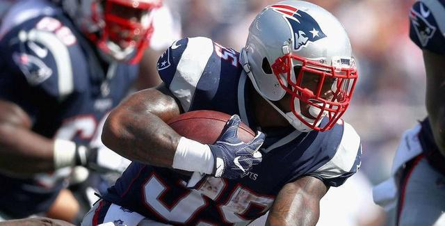 Patriots RB Figures to No Longer Be in Team's Plans Moving Forward