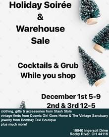 Holiday Soiree & Warehouse Sale