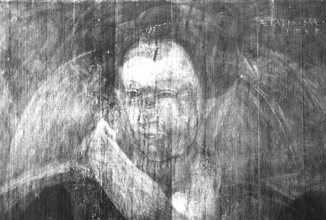 Ghostly rare image of Mary Queen of Scots discovered hidden beneath artwork