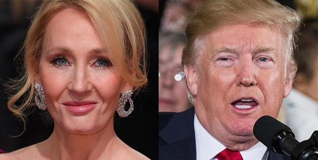 J.K. Rowling totally shuts down Donald Trump's rant about Hillary Clinton