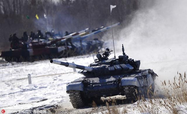 2016 Tank Biathlon Competition held in Russia